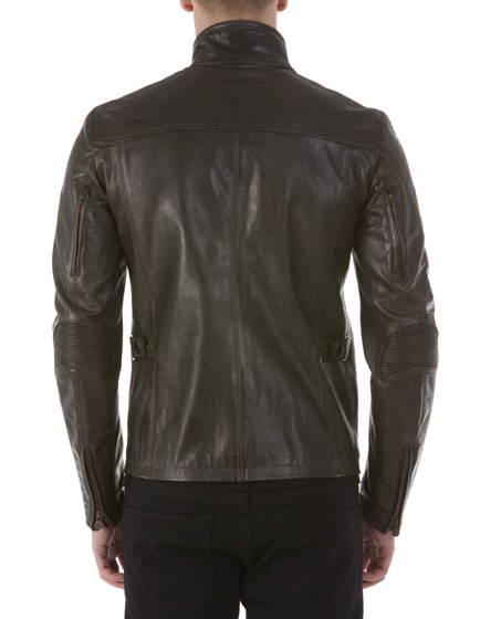 MATCHLESS KENSINGTON MEN'S LEATHER BIKER JACKET