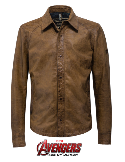 MATCHLESS BANNER SHIRT MEN'S LEATHER BIKER JACKET