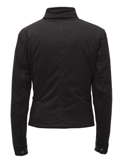 MATCHLESS OCELOT MEN'S ULTRA LIGHT NYLON BIKER BLOUSON BLACK