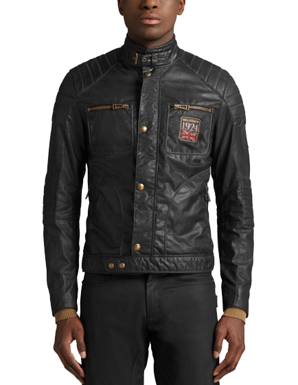 belstaff weybridge fc men 39 s vintage waxed cotton blouson. Black Bedroom Furniture Sets. Home Design Ideas