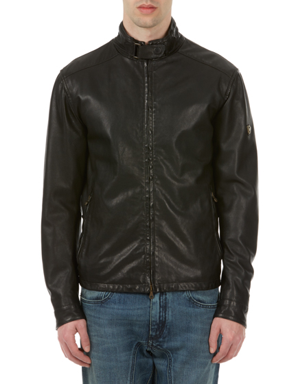 MATCHLESS JOHNNY MEN'S NAPPA LEATHER BIKER BLOUSON