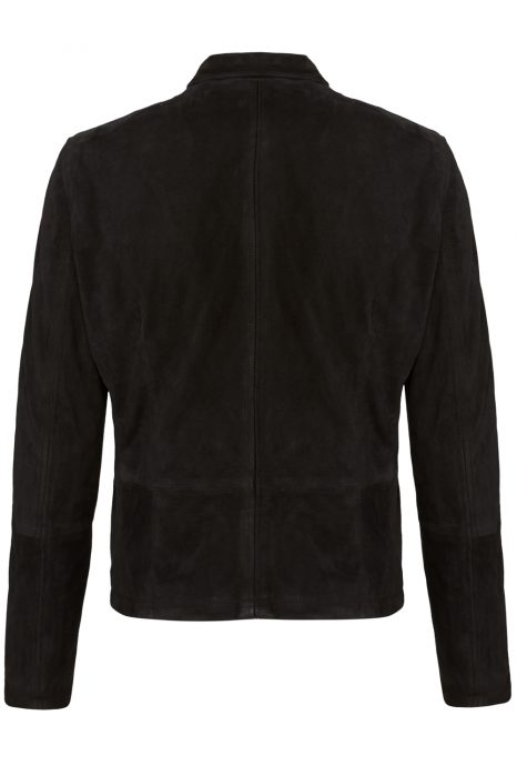 Matchless Craig Men's Vintage Biker Blouson Black BACK