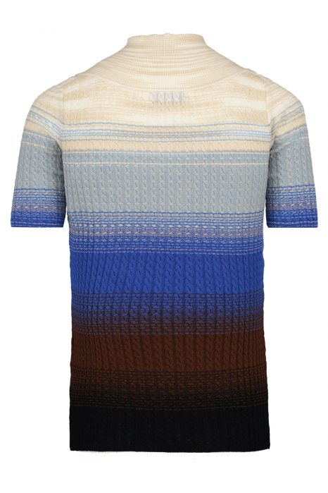 Missoni Women's Ombré Cable-knit Wool Top Blue
