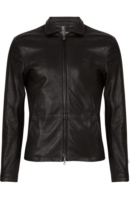 Matchless Craig Men's Leather Biker Blouson Black FRONT