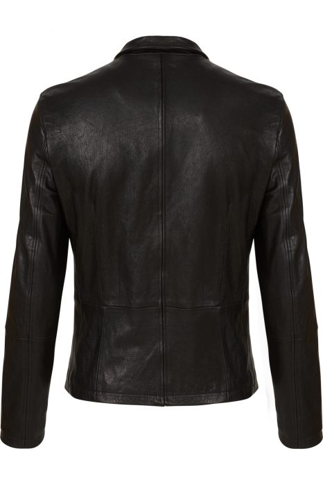 Matchless Craig Men's Leather Biker Blouson Black BACK