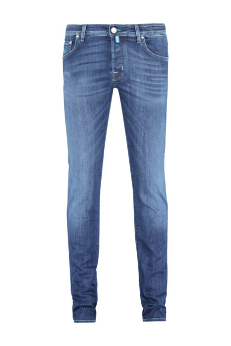 Jacob Cohën Men's PW622 Slim Comfort Jeans Blue FRONT
