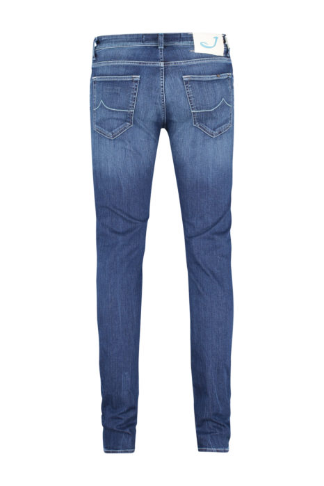 Jacob Cohën Men's PW622 Slim Comfort Jeans Blue BACK