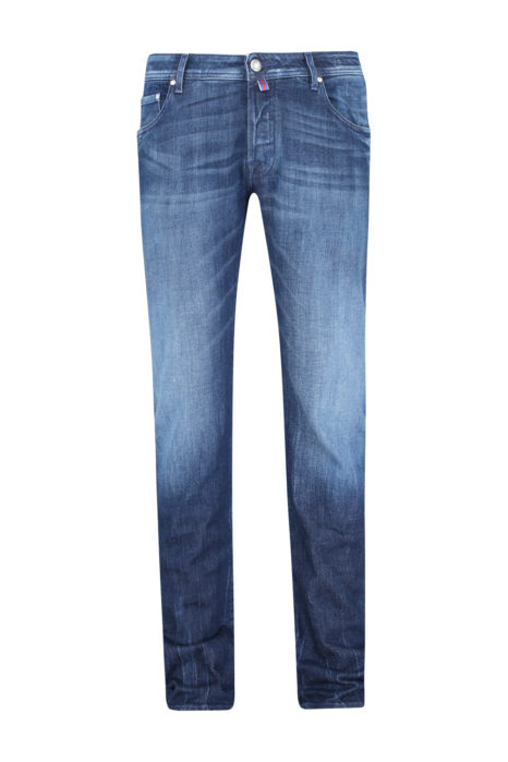Jacob Cohën Men's J622 Comfort Tailored Jeans Blue FRONT