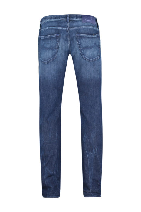 Jacob Cohën Men's J622 Comfort Tailored Jeans Blue BACK