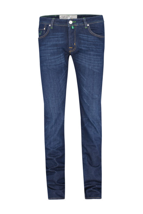 Jacob Cohën Men's PW622 Slim Comfort Fit Jeans Blue FRONT
