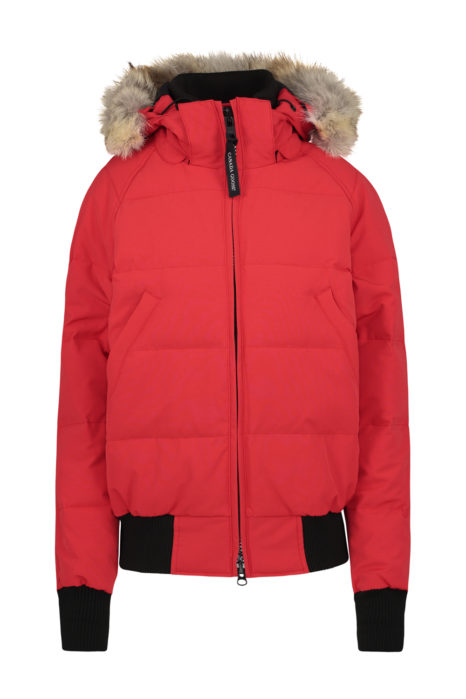 Canada Goose Savona Bomber Jacket Red FRONT