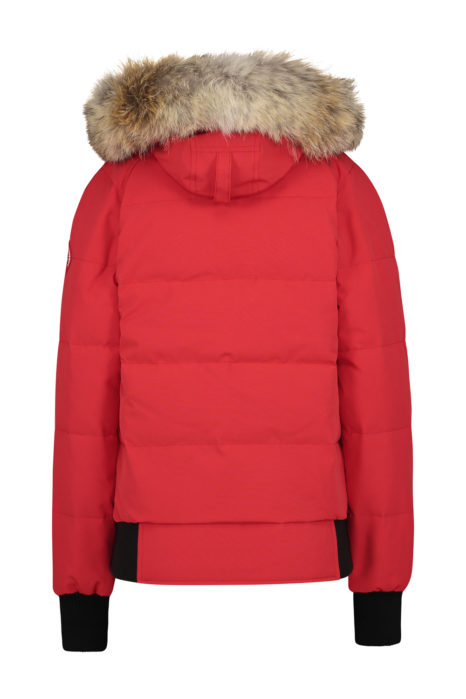 Canada Goose Savona Bomber Jacket Red BACK