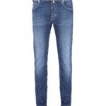Jacob Cohën Men's J688 Limited Edition Comfort Tailored Jeans Blue FRONT
