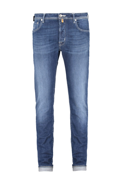 Jacob Cohën Men's J688 Limited Edition Comfort Tailored Jeans Blue FRONT
