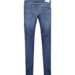 Jacob Cohën Men's J688 Limited Edition Comfort Tailored Jeans Blue BACK