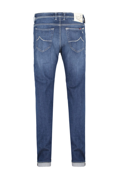 Jacob Cohën Men's J688 Limited Edition Comfort Tailored Jeans Blue BACK