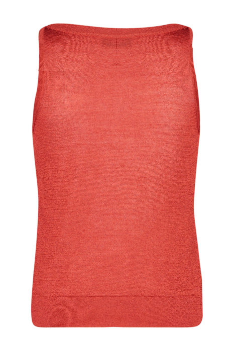 Missoni Women's Lurex Tank Top Orange BACK