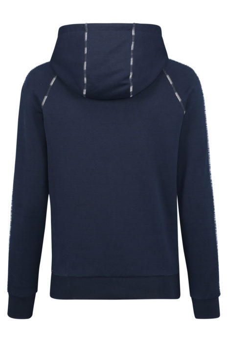 Missoni Men's Cotton Hoodie Navy BACK