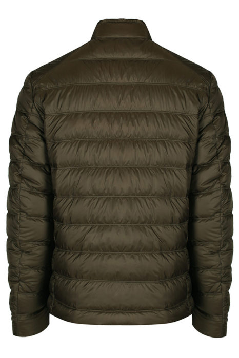 Belstaff Men's Halewood Quilted Blouson Green BACK
