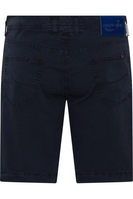 Jacob Cohën Men's Comfort Fit Chino Shorts Navy BACK