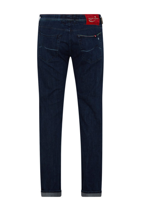 Jacob Cohën Men's J622 Limited Comfort Fit Jeans Dark Blue BACK
