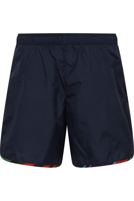 Missoni Men's Zigzag Trim Swim Shorts Navy BACK
