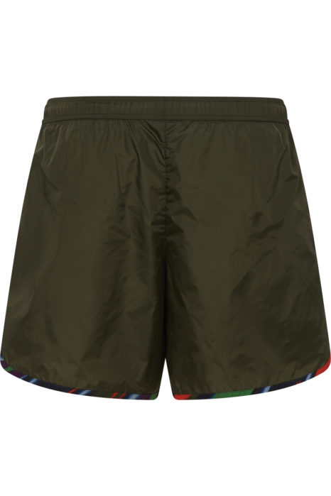 Missoni Men's Zigzag Trim Swim Shorts Green BACK