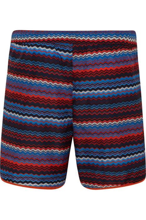 Missoni Men's Zig Zag Swim Shorts Blue BACK