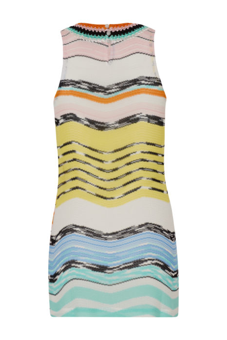 Missoni Women's Short Beach Zig Zag Dress Multicoloured