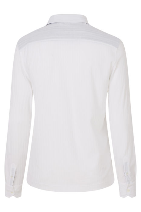 Missoni Men's Cotton Knitted Shirt White BACK
