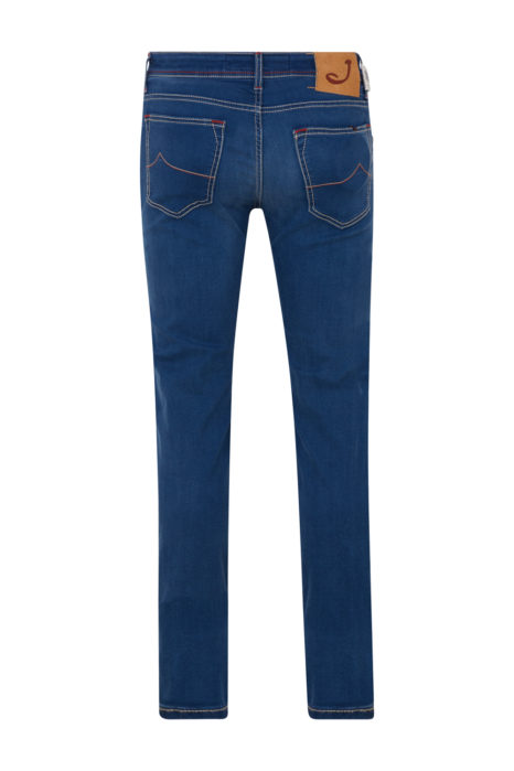 Jacob Cohën Men's Slim Fit Jeans Blue BACK