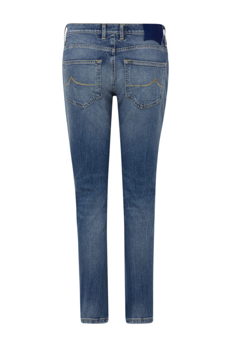 Jacob Cohën Women's Karen Distressed Jeans Blue BACK