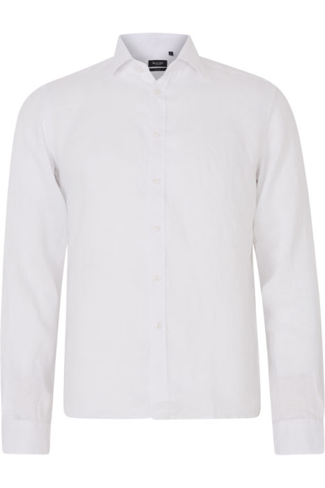 Sand Men's Classic Linen Shirt White
