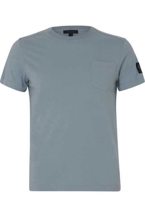 Belstaff New Thom Men's T-shirt Light Chambray FRONT