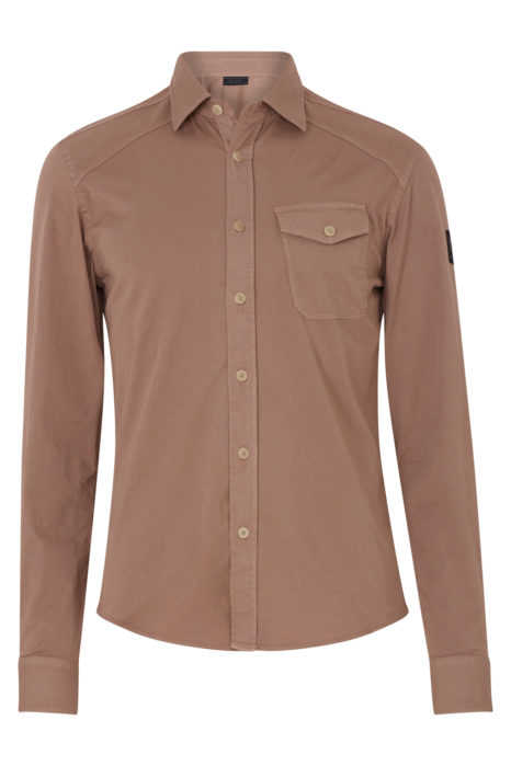 Belstaff Steadway Men's Shirt Ash Rose Pink