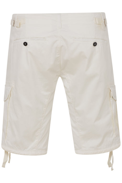 C.P. Company Men's Cargo Lens Shorts White BACK