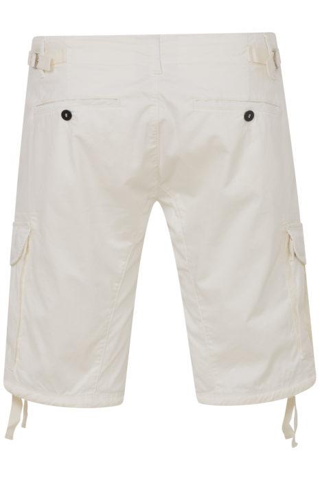 C.P. Company Men's Cargo Lens Shorts White BACK