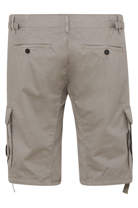 C.P. Company Men's Cargo Lens Shorts Beige BACK