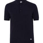 C.P. Company Cotton Polo-shirt Navy FRONT