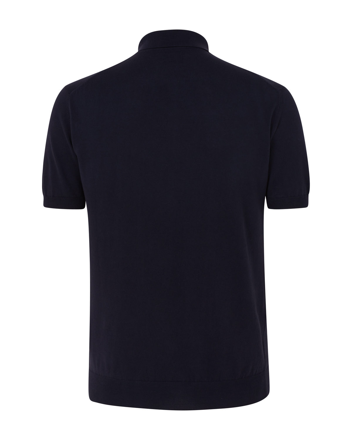 cp company cotton poloshirt navy linea fashion