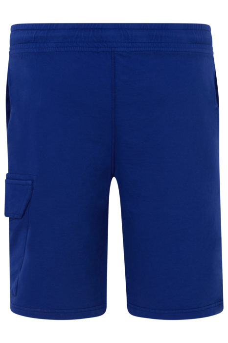C.P. Company Men's Cotton Cargo Shorts Blue BACK