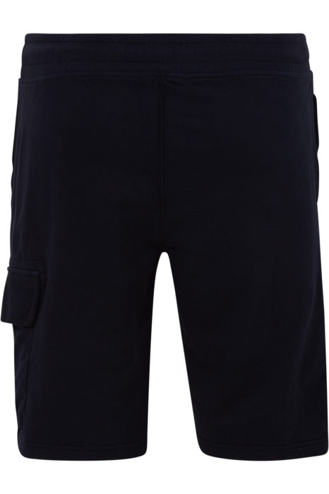 C.P. Company Men's Cotton Cargo Shorts Navy BACK