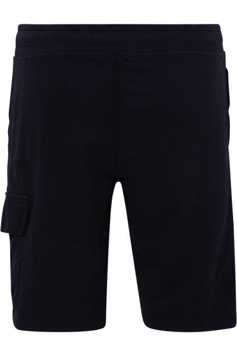 C.P. Company Men's Cotton Cargo Shorts Navy BACK
