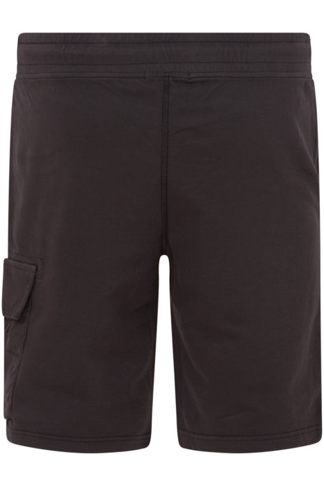 C.P. Company Men's Cotton Cargo Shorts Grey BACK