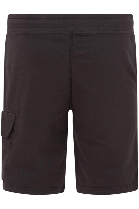 C.P. Company Men's Cotton Cargo Shorts Grey BACK