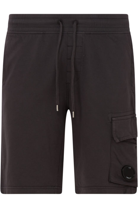 C.P. Company Men's Cotton Cargo Shorts Grey FRONT