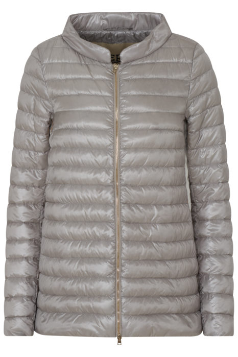 Herno Women's Quilted Down Jacket Beige FRONT