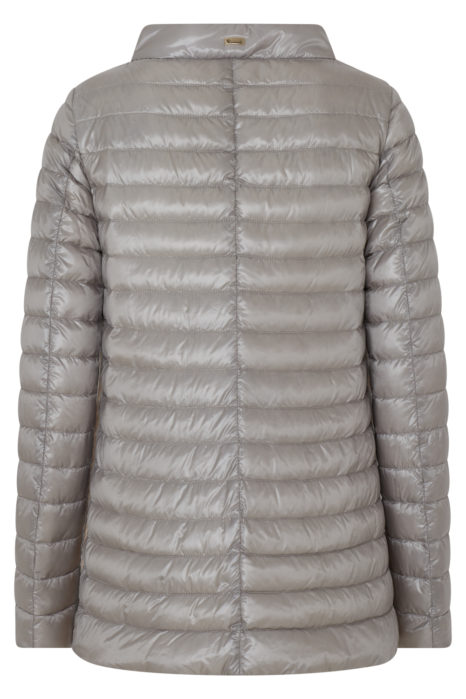 Herno Women's Quilted Down Jacket Beige BACK