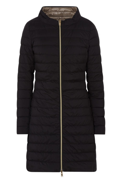 Herno Women's Reversible Padded Coat Black FRONT