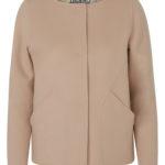 Herno Women's Cashmere Jacket Beige FRONT
